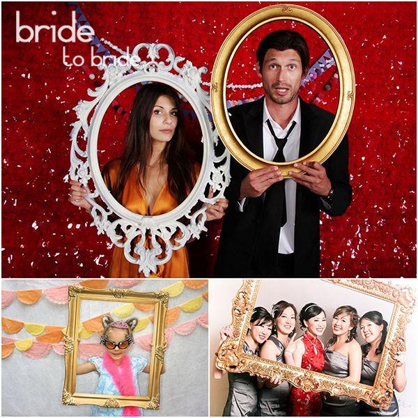 Фотобудка на свадьбу рамочки