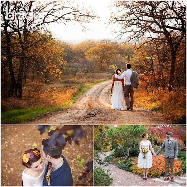Идеи фото свадебные осенью
