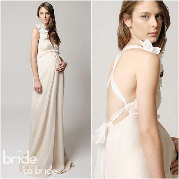 Свадебные платья для беременных фото 1 Свадебные платья для беременных фото 2