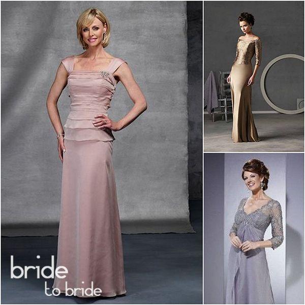 Вечерние платья для невесты в возрасте