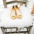 Снежная свадьба фото